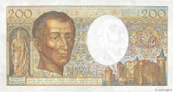 200 Francs MONTESQUIEU Fauté FRANCE  1981 F.70.01 SUP+