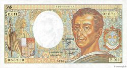 200 Francs MONTESQUIEU FRANCE  1982 F.70.02 SPL