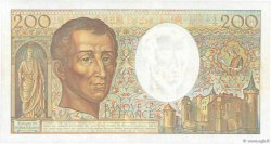 200 Francs MONTESQUIEU FRANCE  1991 F.70.11 SUP