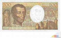 200 Francs MONTESQUIEU FRANCE  1992 F.70.12b pr.NEUF