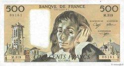 500 Francs PASCAL filigrane tête-bêche FRANCE  1990 F.71bis.06 TTB à SUP
