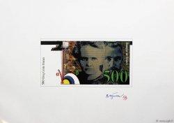 50 à 500 Francs Série Nouvelle Gamme FRANCE  1992 F.72/73/74/75 NEUF