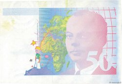 50 Francs SAINT-EXUPÉRY FRANCE  1991 F.72.00 SUP