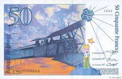 50 Francs SAINT-EXUPÉRY FRANCE  1993 F.72.00 NEUF