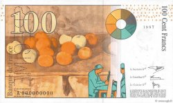 100 Francs CÉZANNE FRANCE  1997 F.74.00 SPL