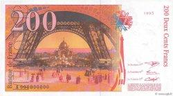 200 Francs EIFFEL FRANCE  1995 F.75.00s1 NEUF