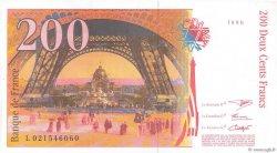 200 Francs EIFFEL sans STRAP FRANCE  1995 F.75bis.01 pr.NEUF