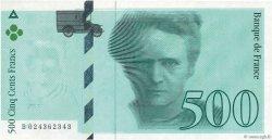 500 Francs PIERRE ET MARIE CURIE FRANCE  1994 F.76E.01 pr.NEUF