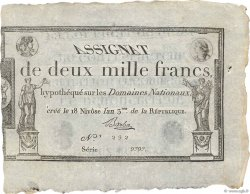 2000 Francs FRANCE  1795 Ass.51a SUP+