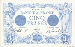 5 Francs BLEU FRANCE  1912 F.02.10 SUP