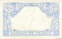 5 Francs BLEU FRANCE  1916 F.02.35 SUP+