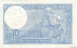 10 Francs MINERVE FRANCE  1920 F.06.04 pr.SUP