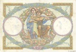 50 Francs LUC OLIVIER MERSON FRANCE  1927 F.15.01 TTB