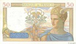 50 Francs CÉRÈS modifié FRANCE  1939 F.18.31 SPL+
