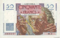50 Francs LE VERRIER FRANCE  1946 F.20.02 SUP+