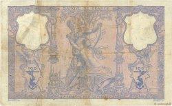 100 Francs BLEU ET ROSE FRANCE  1908 F.21.23 B+