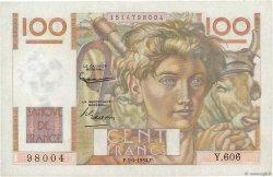 100 Francs JEUNE PAYSAN FRANCE  1954 F.28.43a SUP+