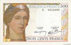 300 Francs FRANCE  1938 F.29.01 SUP+