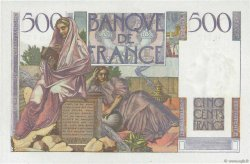 500 Francs CHATEAUBRIAND FRANCE  1952 F.34.09 SPL