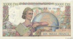 10000 Francs GÉNIE FRANÇAIS FRANCE  1946 F.50.09 TTB