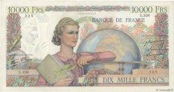 10000 Francs GÉNIE FRANÇAIS FRANCE  1946 F.50.10 TTB+