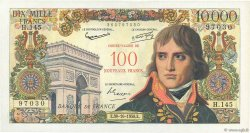 100 NF sur 10000 Francs BONAPARTE FRANCE  1958 F.55.01 SUP+