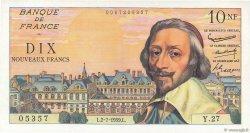 10 Nouveaux Francs RICHELIEU FRANCE  1959 F.57.02 pr.NEUF