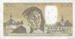 500 Francs PASCAL FRANCE  1987 F.71.37 TTB+