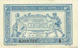 50 Centimes TRÉSORERIE AUX ARMÉES FRANCE  1917 VF.01.01 pr.NEUF