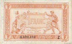 1 Franc TRÉSORERIE AUX ARMÉES FRANCE  1919 VF.04.13 SPL