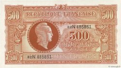 500 Francs MARIANNE FRANCE  1945 VF.11.03 NEUF
