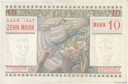 10 Mark SARRE FRANCE  1947 VF.47.01 SUP