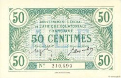 50 Centimes FRENCH EQUATORIAL AFRICA  1917 P.01a UNC