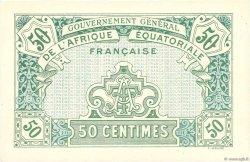 50 Centimes AFRIQUE ÉQUATORIALE FRANÇAISE  1917 P.01a NEUF