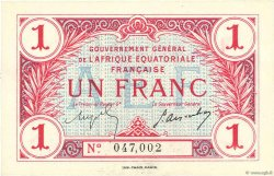 1 Franc AFRIQUE ÉQUATORIALE FRANÇAISE  1917 P.02a pr.NEUF