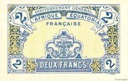 2 Francs AFRIQUE ÉQUATORIALE FRANÇAISE  1917 P.03 NEUF