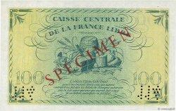 100 Francs AFRIQUE ÉQUATORIALE FRANÇAISE  1941 P.13s SPL