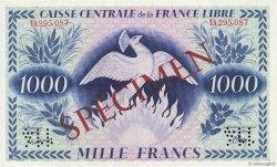 1000 Francs Phénix AFRIQUE ÉQUATORIALE FRANÇAISE  1941 P.14s1 SUP