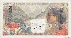 100 Francs La Bourdonnais AFRIQUE ÉQUATORIALE FRANÇAISE  1947 P.24s SPL