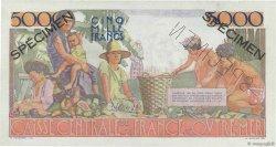 5000 Francs Schoelcher type 1946 AFRIQUE ÉQUATORIALE FRANÇAISE  1946 P.27s SPL