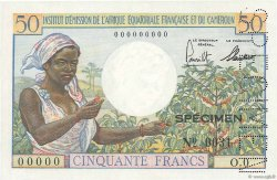 50 Francs AFRIQUE ÉQUATORIALE FRANÇAISE  1957 P.31s NEUF