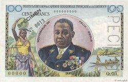 100 Francs AFRIQUE ÉQUATORIALE FRANÇAISE  1957 P.32s SUP+