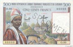 500 Francs AFRIQUE ÉQUATORIALE FRANÇAISE  1957 P.33s NEUF