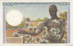 1000 Francs AFRIQUE ÉQUATORIALE FRANÇAISE  1957 P.34 SUP