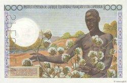 1000 Francs AFRIQUE ÉQUATORIALE FRANÇAISE  1957 P.34s NEUF