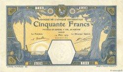 50 Francs DAKAR AFRIQUE OCCIDENTALE FRANÇAISE (1895-1958) Dakar 1929 P.09Bc TTB+