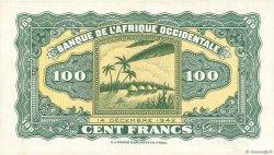 100 Francs type 1942 AFRIQUE OCCIDENTALE FRANÇAISE (1895-1958)  1942 P.31a pr.NEUF