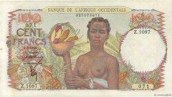 100 Francs AFRIQUE OCCIDENTALE FRANÇAISE (1895-1958)  1946 P.40 SUP