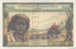 500 Francs AFRIQUE OCCIDENTALE FRANÇAISE (1895-1958)  1956 P.47s SPL