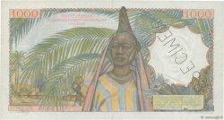 1000 Francs AFRIQUE OCCIDENTALE FRANÇAISE (1895-1958)  1955 P.48s SUP